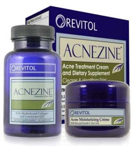 Acnezine 281x300 Acne Treatment working on the problem from inside out also prevents future outbreaks from happening