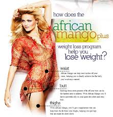 African Mango Image African Mango drops those extra pounds to get a trim and fit body