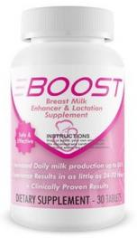 Boost Boost Milk Enhancer is a natural milk enhancer clinically proven to help increase breast milk production