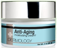 Dermology Anti Aging Solution Anti Aging Breakthrough consists of a rising star cream and a complete moisturizing solution