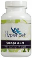 Hypercet Omega 3 6 9 Hypercet offers 3 different natural formulas to help in common ailments