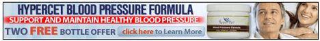 Hyperset Blood Pressure Formula Banner Hypercet Blood Pressure Formula maintains and ensures normal BP levels