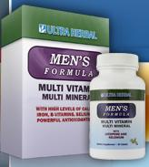 Mens Formula Complete Multi Mineral & Vitamin Supplement consists of a Mens Formula and Womens Formula