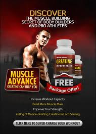 Muscle Advance Image Muscle Advance Creatine increases muscle mass, size and endurance