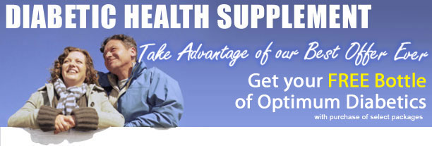Optimum Diabetics Banner Optimum Diabetics promotes better diabetes health