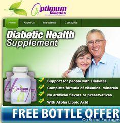 Optimum Diabetics Image Optimum Diabetics promotes better diabetes health