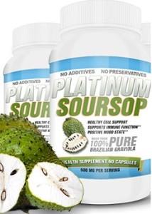 Platinum Soursop 214x300 Graviola has a long history of medicinal use