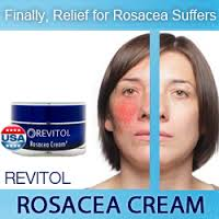 Revitol Rosacea Cream Image 2 Probiotics for Rosacea shows improvement from daily use and so does Revitol Rosacea Cream