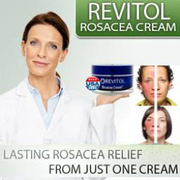 Revitol Rosacea Cream Image Probiotics for Rosacea shows improvement from daily use and so does Revitol Rosacea Cream