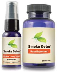 Smoke Deter1 Smoke Deter Your All Natural Remedy to Fight Symptoms of Smoking Withdrawal