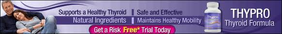 Thypro Horizontal Banner Underactive Thyroid correctable through hormone replacement therapy and Thypro supplement intake