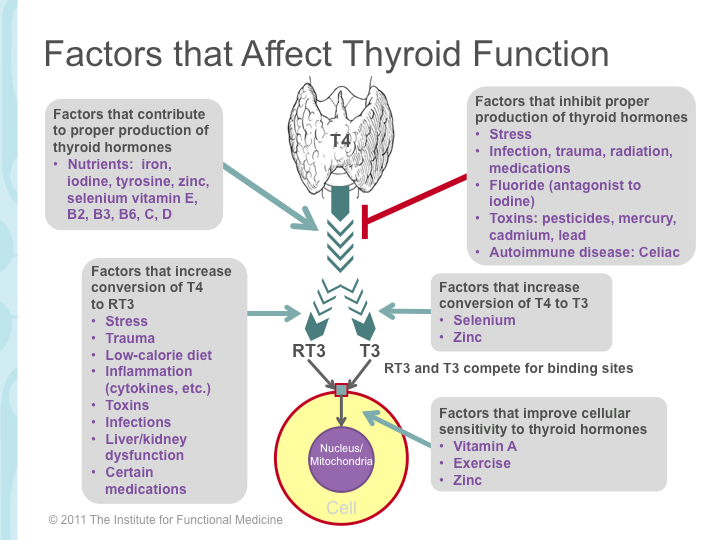 Thyroid Imbalance Treatment Thyroid Imbalance attributable to 9 known causes and treatable with Thypro supplemental intake