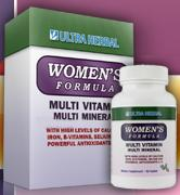 Womens Formula Complete Multi Mineral & Vitamin Supplement consists of a Mens Formula and Womens Formula
