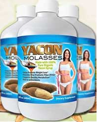 Yacon Molasses Benefits of Yacon includes weight loss without diet change or exercise program